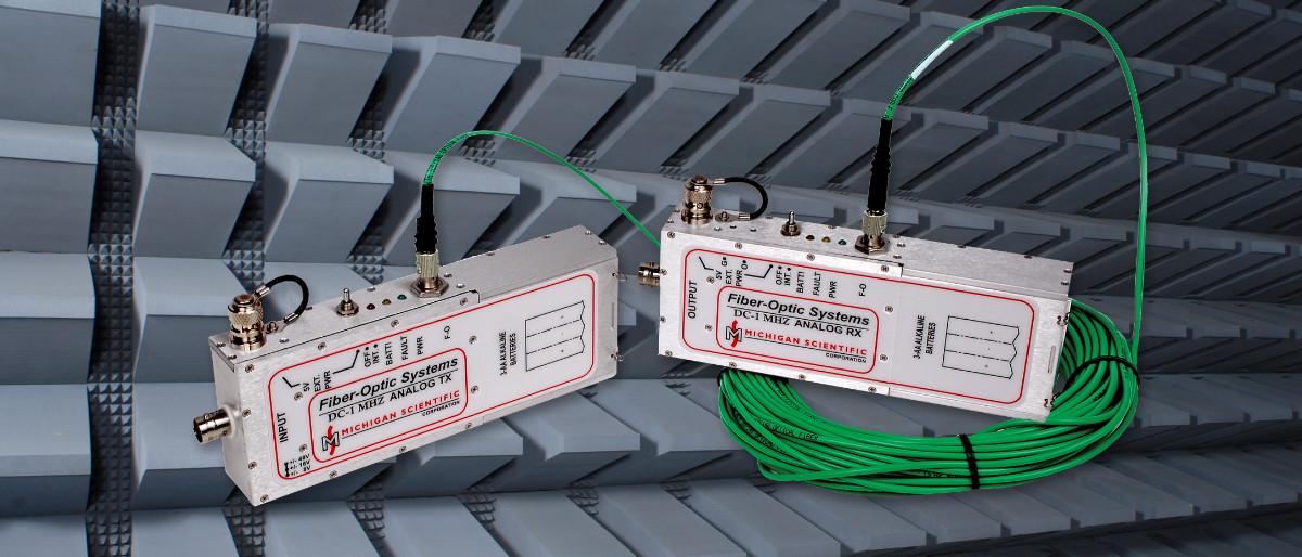 模拟信号光电传输系统